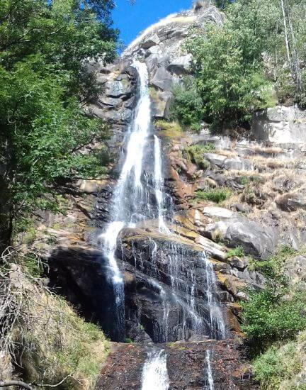 Cevennes and the Grands Causses, Waterfall Lozere gîtes le Miracle