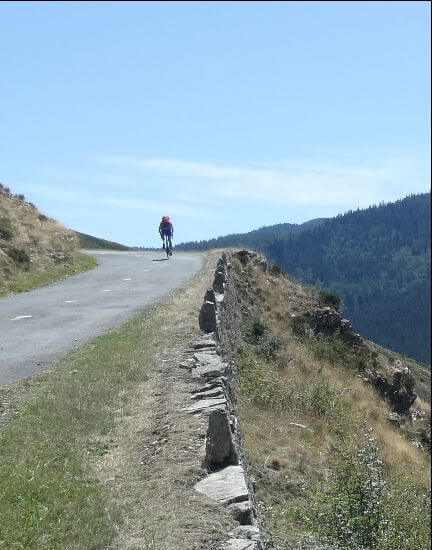 cycling in the cevennes gîtes Le Miracle