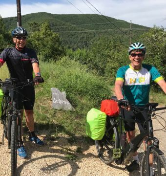 cycling in the cevennes