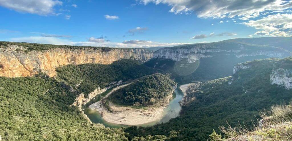 cycling in the cevennes: Gorges Ardeche le Miracle gîtes
